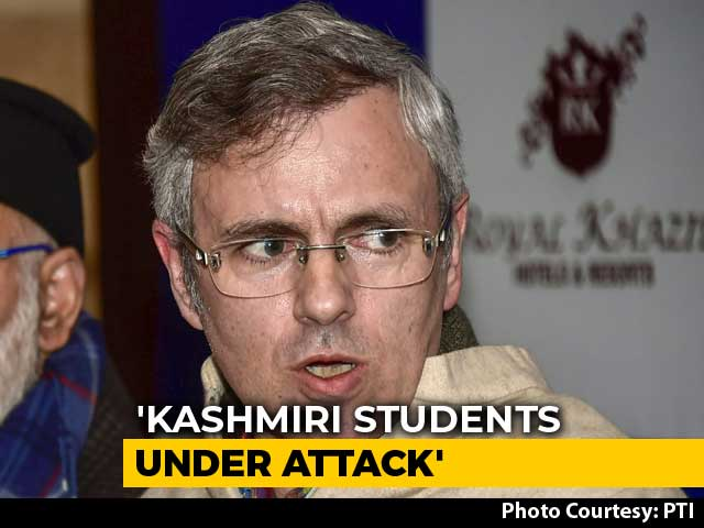 Video : Amid Attack On Kashmiris, Omar Abdullah Targets BJP, Congress