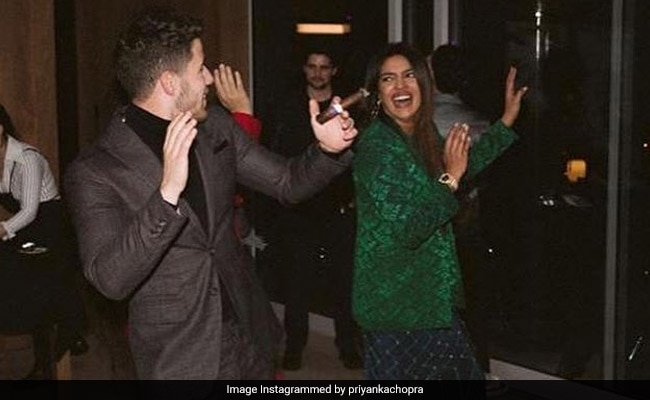 Priyanka And Nick Were Not At Grammys But Made Up For It At Pre-Party