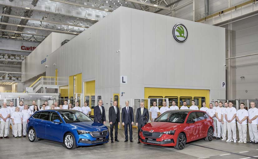 The Skoda Scala will be offered in four engine options in Europe