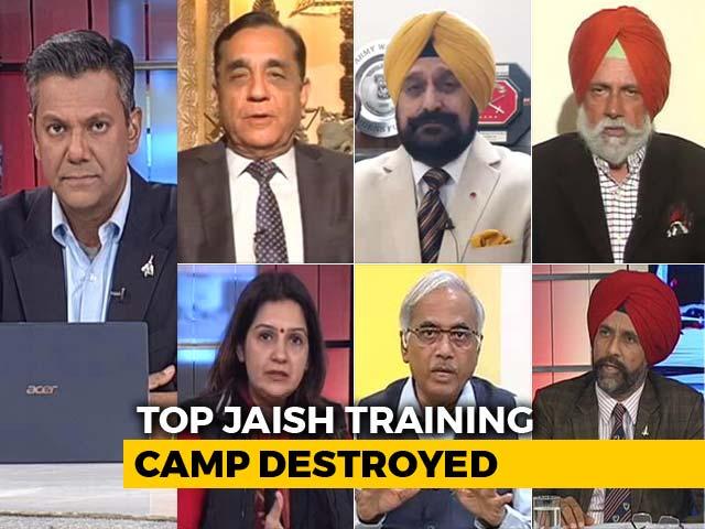 Video : 19 Minutes, 12 Mirage Jets, 1000 Kg Bombs: Top Jaish Camp Destroyed In Pak