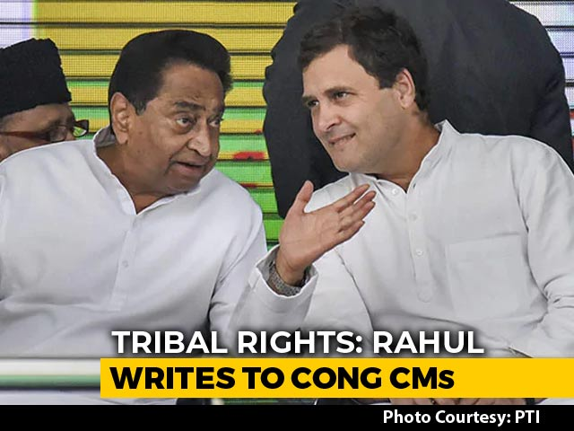 Video : Rahul Gandhi Asks Congress States To Approach Top Court Over Tribal Land