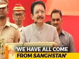 "Video : Maharashtra Governor Bestows New Title On RSS, Says ""Proud"" To Belong"