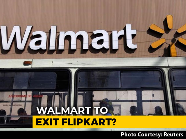 Video : Walmart May Exit Flipkart Over New FDI Norms, Claims Morgan Stanley