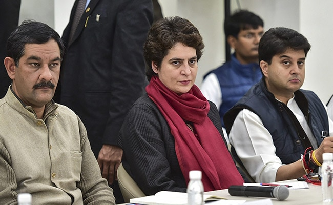 Why Priyanka Gandhi Sat Away From Rahul During Her First Party Meet