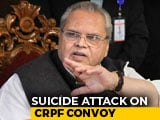 "Video : After 40 Killed In Pulwama, Jammu And Kashmir Governor Talks ""Negligence"""