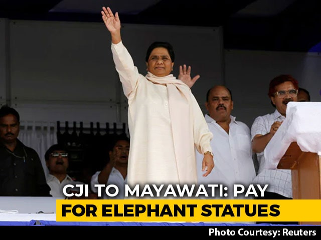 Video : Mayawati Has To Reimburse Money Spent On Elephant Statues, Says Top Court