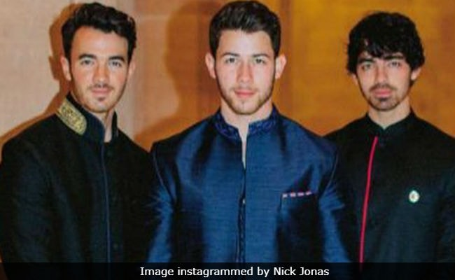 New Jonas Brothers video features the brothers' wives and fiance