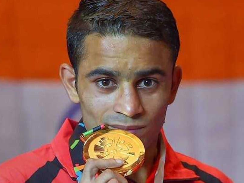 Boxing: अमित पंघाल ने स्वर्ण पदक पुलवामा के शहीद जवानों को किया समर्पित