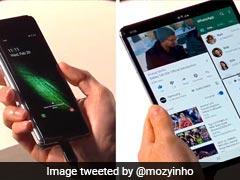 Samsung Galaxy Fold: लॉन्च हुआ मुड़ने वाला स्मार्टफोन, अंदर से निकलेगा टैबलेट, यूजर ने कहा- जमीन बेचकर खरीदूंगा फोन