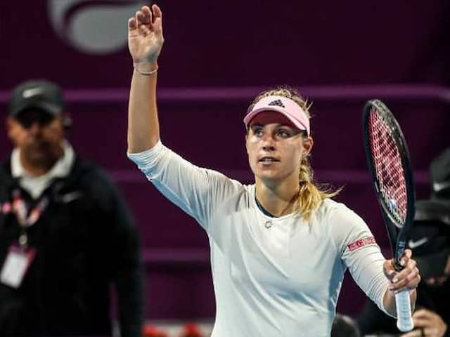 Angelique Kerber Survives Scare To Reach Qatar Open Semi-Finals