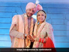 Pics From Neeti Mohan And Nihaar Pandya's Wedding Album