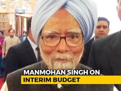 Video: Manmohan Singh Critiques Budget, Says Farm, Tax Sops Will Impact Polls