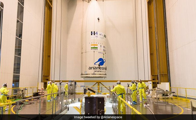 Indian To Launch 2,535 kg Satellite Onboard European Launch Vehicle