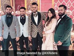 क्रिकेटर नीतीश राणा विवाह बंधन में बंधे, कोलकाता नाइटराइडर्स ने ट्वीट किया यह फोटो...