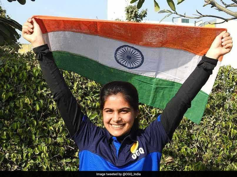 ISSF World Cup 2019: Manu Bhaker, Saurabh Chaudhary Win Gold In 10m Air Pistol Mixed Team Event