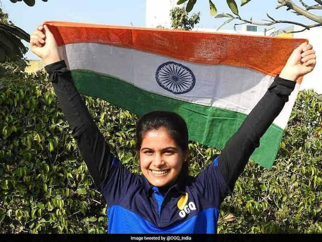 ISSF World Cup 2019: Manu Bhaker And Saurabh Chaudhary Registered A Total Score Of 483.4 To Finish On The Top