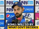 Video : Virat Kohli Breaks His Silence On World Cup 2019 Clash Against Pakistan