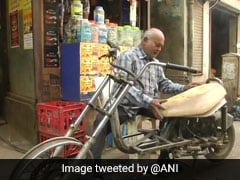 "Differently-Abled Gujarat Man, 60, Builds ""E-bikes"" By Recycling E-waste"