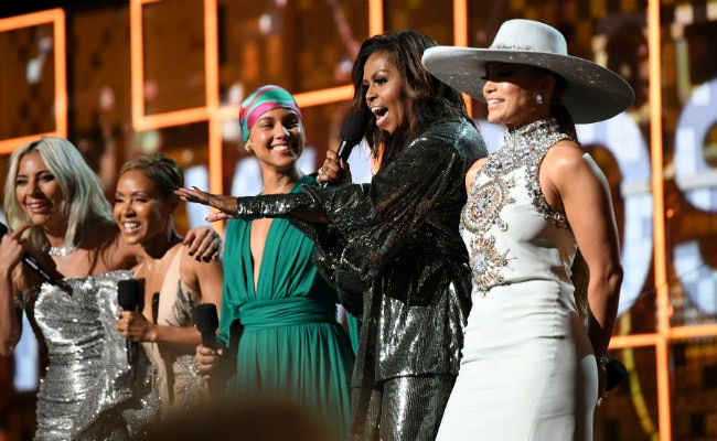 Grammys 2019: Michelle Obama's Surprise Appearance And Girl Power Message
