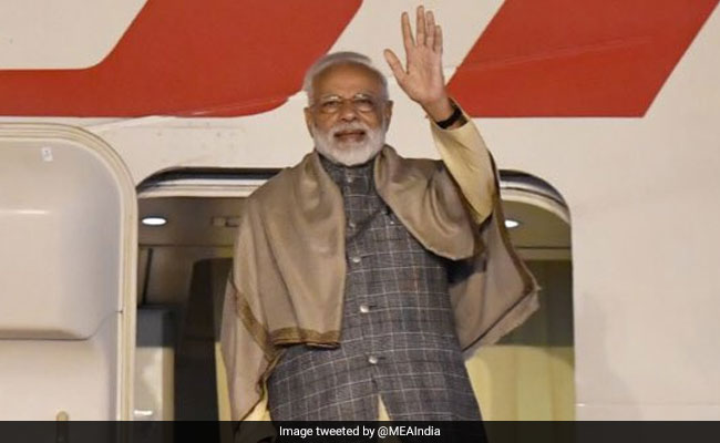 PM Modi Leaves For South Korea On Two-Day Visit