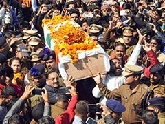 Rajasthan Soldier Killed In Pulwama Encounter Cremated With State Honours