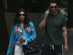 Arjun Rampal And Rumoured Girlfriend Gabriella Demetriades Out And About In Mumbai