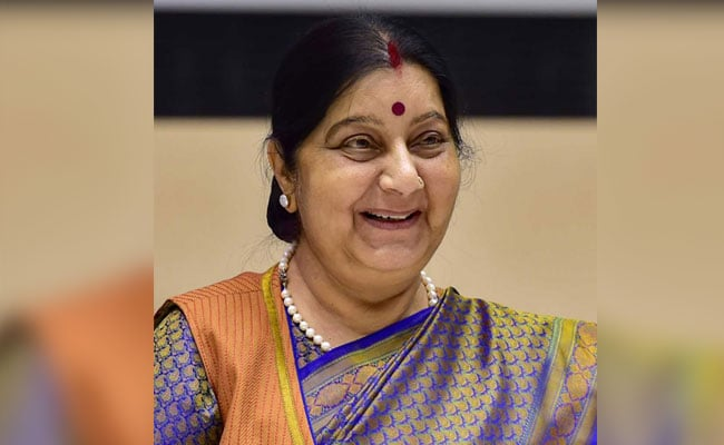Sushma Swaraj To Begin Two-Day Visit To Maldives Tomorrow