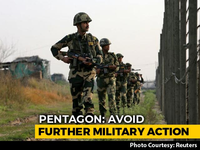 Video : India, Pakistan Should Avoid Further Military Action: Pentagon