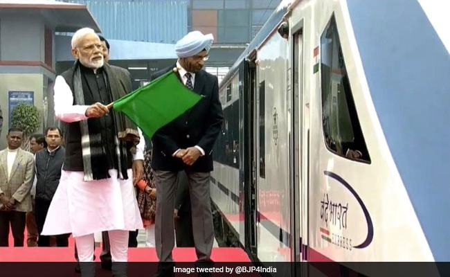 PM Modi Flags Off Vande Bharat Express, India's Fastest Train: 10 Points