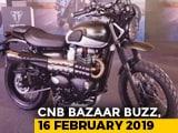 Video : Mahindra XUV300, Honda CB300R, Triumph Street Twin & Street Scrambler, Steelbird SBA-1 HF Helmet