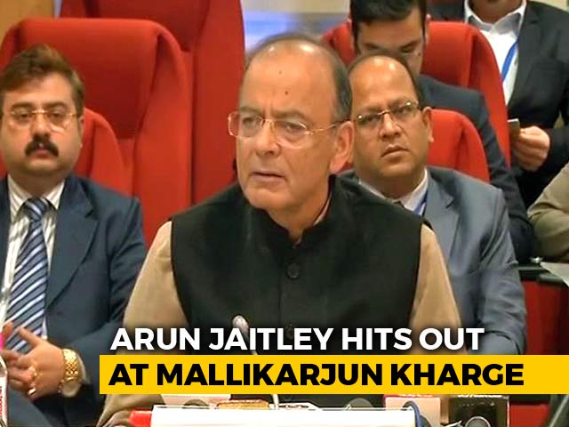 "Video : Arun Jaitley Shreds ""The Kharge Dissent"" Amid CBI Chief's Selection Row"