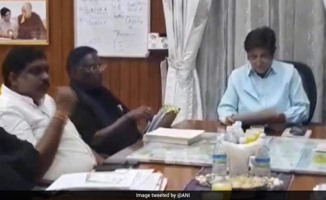 Puducherry Chief Minister Hits Out At Governor Over Special Excise Duty On Liquor