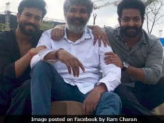 Progress Report Of Rajamouli's Film Starring Ram Charan And Jr NTR