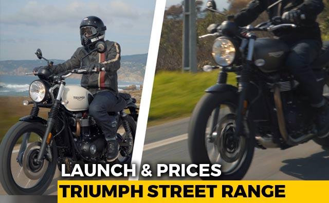 2019 Triumph Street Twin Street Scrambler Launched