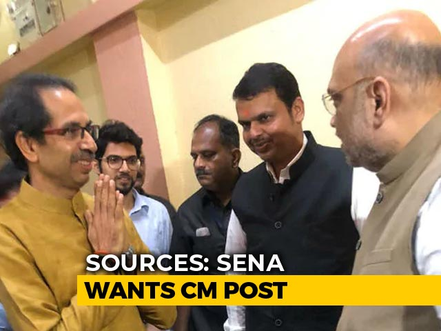 Video : BJP, Shiv Sena Agree On 50:50 Formula, Likely To Announce Alliance Today