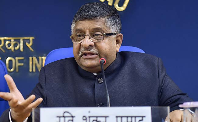 5,000 Bihar Villages To Be Digitally Equipped: Ravi Shankar Prasad