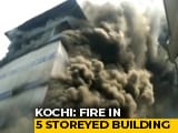 Video: Fire At Kochi Rubber Factory, Residents From Nearby Buildings Evacuated
