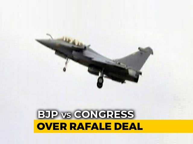 Video : The New Document Rahul Gandhi Used Today To Target PM Modi Over Rafale