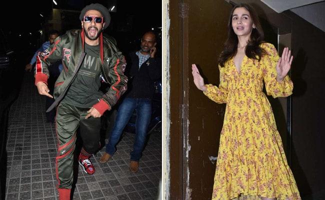 In Pics: Ranveer Singh, Alia Bhatt Screen Gully Boy For Ananya Panday, Shweta Bachchan Nanda, Kiran Rao And Other Celebs