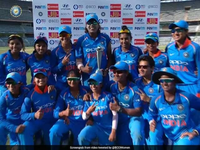 India Women Clinch Series 2-1 As England Register Consolation Win In 3rd ODI