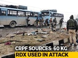 Video : 60 Kg RDX Used In Pulwama Terror Attack, A Body Was Flung 80 Metres Away