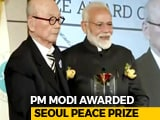 Video : PM Modi, On Visit To South Korea, Awarded Seoul Peace Prize