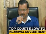 "Video : ""Supreme Court Order Against Democracy"": Arvind Kejriwal After Setback"