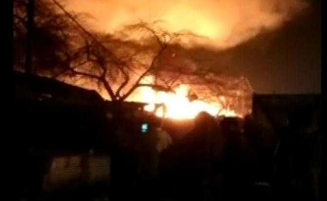 Fire In Delhi Slum Burns 250 Huts, Cooling Operations Underway