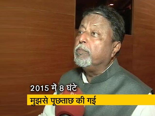 Video : सीबीआई को बीजेपी नहीं चलाती है : मुकुल रॉय