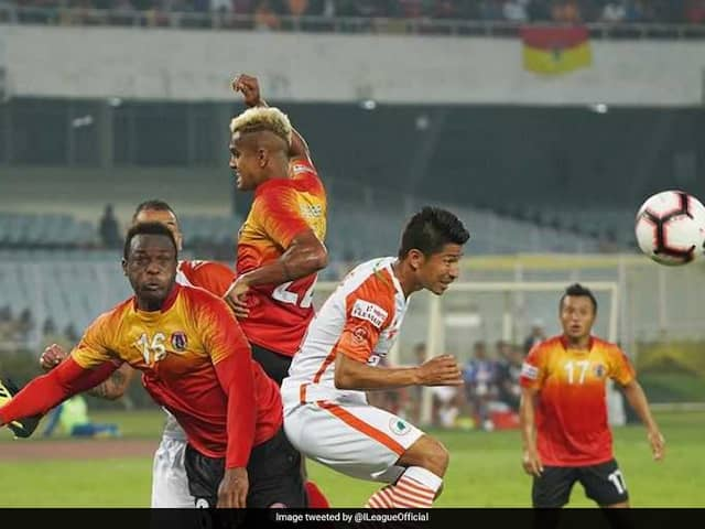 I-League: East Bengal Beat Neroca FC 2-1, Stay In Title Race