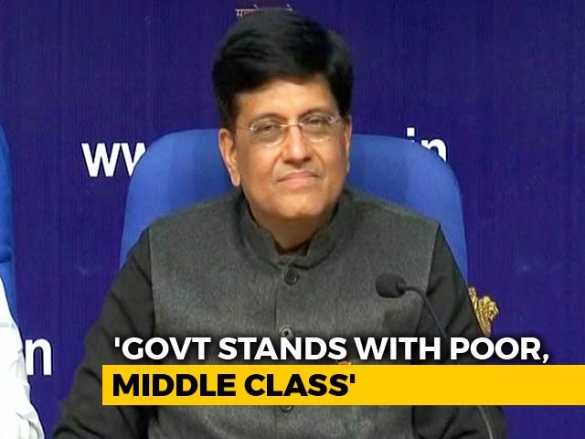 Video : Measures Limited Due To Interim Budget: Piyush Goyal Tells Media After Budget
