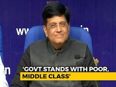 Video: Measures Limited Due To Interim Budget: Piyush Goyal Tells Media After Budget