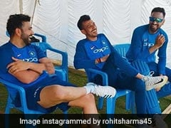 Rohit Sharma, Yuzvendra Chahal Banter Leaves Fans In Splits