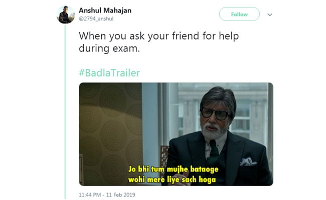 All The Best Memes That Badla Trailer Has Inspired. Take A Look